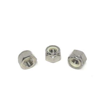 18-8 Stainless Steel Hex Nylon Insert Lock Nuts (UNF) Fine Thread