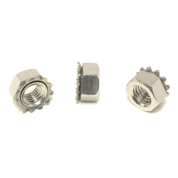 A2 Stainless Steel K-LOC KEPS Hex Lock Nuts
