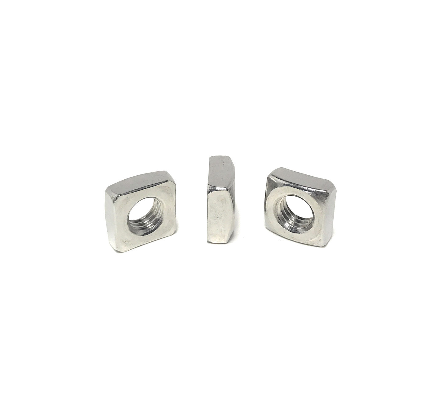 5//8-11 Qty-250 Square Nut 18-8 Stainless Steel