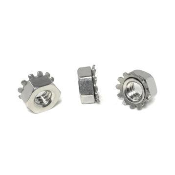 18-8 Stainless Steel K-LOC KEPS Hex Lock Nuts (UNC - UNF)