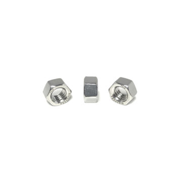 316 Stainless Steel Finished Hex Nuts (UNC) Coarse Thread