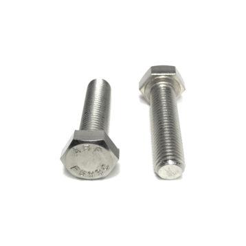 18-8 Stainless Steel Hex Cap Screws (UNF) Fine Thread