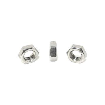 18-8 Stainless Steel Hex Jam Nuts (UNF) Fine Thread