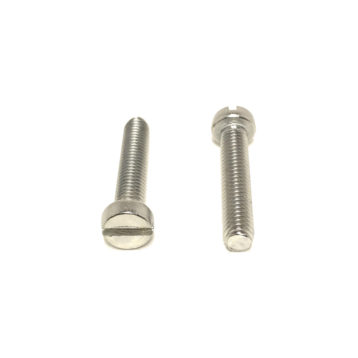 A2 Stainless Steel DIN84 Slotted Cheese Head Machine Screws