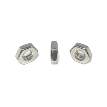 18-8 Stainless Steel Hex Machine Screw Nuts (UNC - UNF)