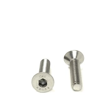 A2 Stainless Steel DIN7991 Flat Head Socket Cap Screws