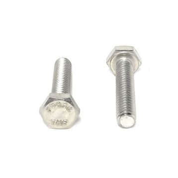 A2 Stainless Steel DIN 933 Hex Cap Screws