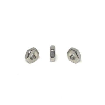 316 Stainless Steel Hex Machine Screw Nuts (UNC- UNF)