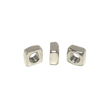 18-8 Stainless Steel Square Nuts (UNC - UNF)