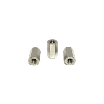 A2 Stainless Steel DIN6334 Coupling Nuts